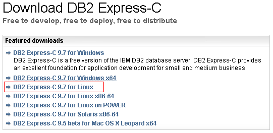 CentOS5 3にIBM DB2 Express-C V9 7 をインストールする - Symfoware