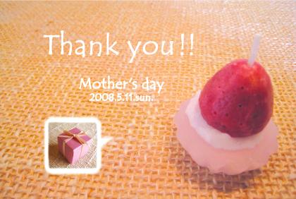 母の日2008