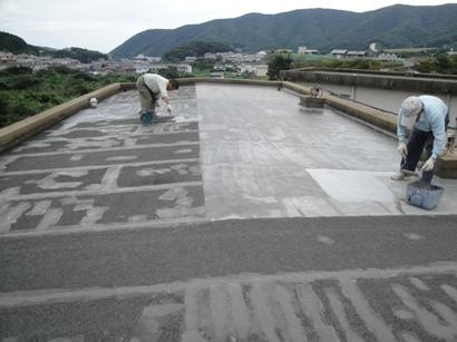 屋根の防水補修