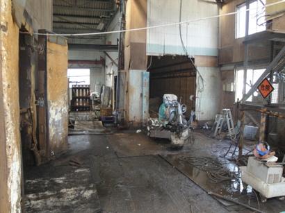 某工場 土間改修