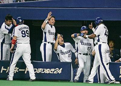 日本シリーズ完勝!