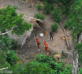 アマゾンの部族だ