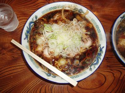 麺八のラーメン