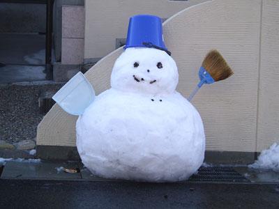 正統派雪だるま